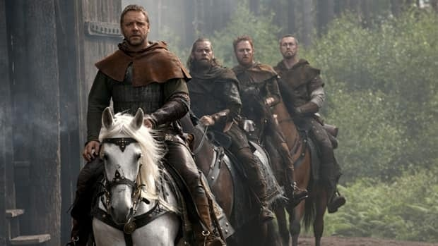 Russell Crowe is reuniting in St. John's with the 'merry men' from the 2010 film Robin Hood, including Alan Doyle, Scott Grimes and Kevin Durand.