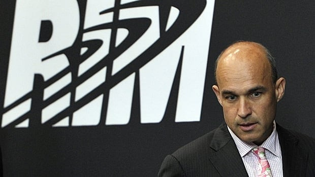 Analysts have called on RIM to do away with its co-CEO structure, in which Jim Balsillie, shown here, shares the title with Mike Lazaridis.