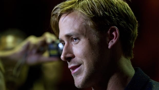 Movie fans became histrionic at the sight of Ryan Gosling on the red carpet for the film Drive at TIFF.