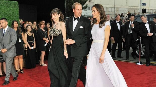 Prince William and Kate, the Duke and Duchess of Cambridge, arrive at the inaugural BAFTA Brits to Watch 2011 event at the Belasco Theater in Los Angeles. Among the Hollywood stars who also attended were Tom Hanks, Nicole Kidman and Jennifer Lopez.