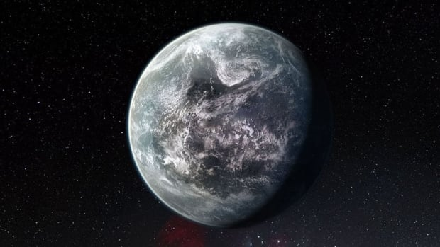 Over 1,000 exoplanets have been discovered so far, including kinds that don't exist in our solar system, like the super-Earth shown in this artist's conception.