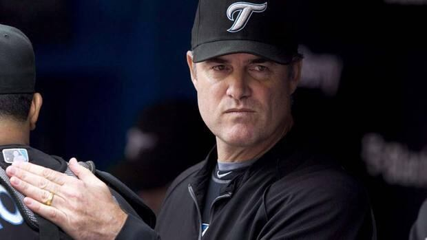 As a rookie manager, John Farrell, left, guided the Blue Jays to an 81-win season and 39 victories on the road while gaining the respect of the players.