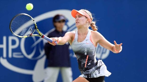 Canadian teenager was competing in her first career tour final in Japan.