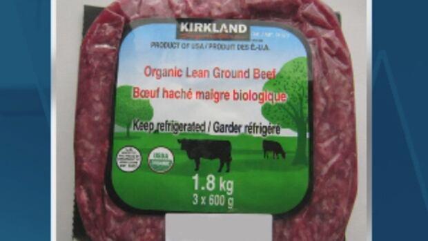 Costco is voluntarily recalling its Kirkland organic lean ground beef.
