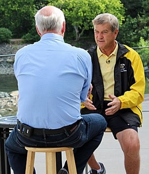 Peter Mansbridge and Bobby Orr