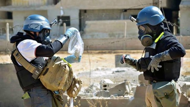 OPCW inspectors have until Nov. 1 to complete verification of Syria's inventory of chemical weapons and to render production, mixing and filling facilities unusable.