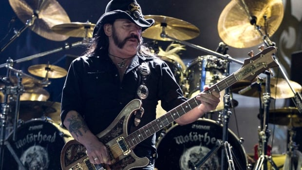 "Ian Fraser ""Lemmy"" Kilmister of Motorhead, shown here performing in Rio de Janeiro in 2011, endorsed Edmonton mayoral candidate Josh Semotiuk."