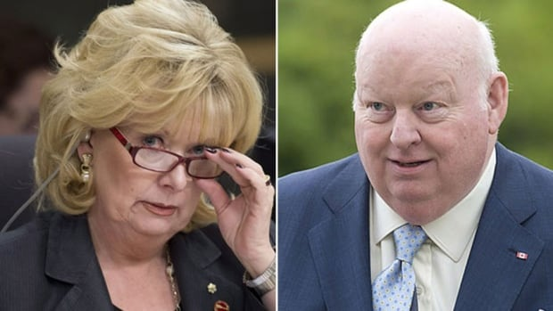Senators Pamela Wallin and Mike Duffy