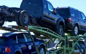 Trucks outsell passenger cars