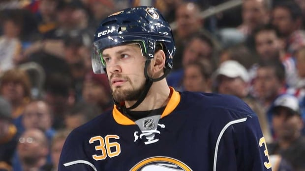 Buffalo Sabres forward Patrick Kaleta was suspended for 10 games for an illegal hit to the head of Columbus Blue Jackets defenceman Jack Johnson.