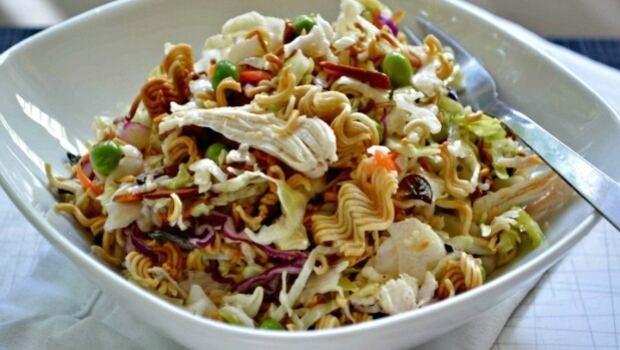 Turkey noodle salad