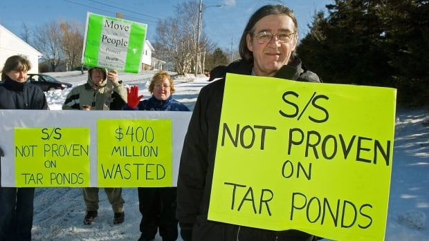 A Sierra Club protest at the Sydney Tar Ponds in Cape Breton, N.S. The Canada Revenue Agency has launched a political-activity audit of the group's charitable foundation.