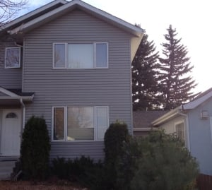 Accused's west-side home