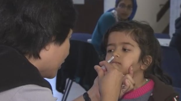 A new nasal flu vaccine has been made available for children across Metro Vancouver for this flu season.