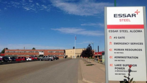 Essar Steel Algoma in Sault Ste. Marie is requesting relief from its pension obligations. The government hasn't approved the company's request yet.