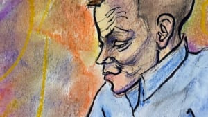 Dustin Paxton court sketch Oct. 16