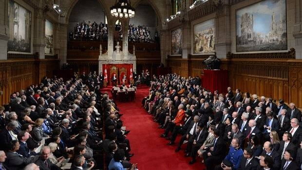 Senate reform specifics absent from throne speech