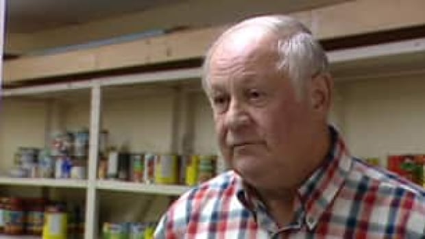 Lawrence Power, a volunteer at the Southern Kings and Queens Food Bank ...