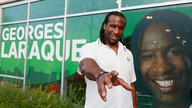 Green Party of Canada deputy leader and Bourassa by-election candidate Georges Laraque says his party is aware of the fraud allegations against him and still supports his candidacy.