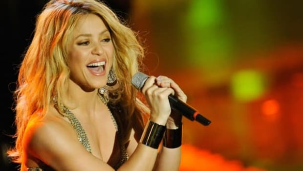 Shakira is on the album for the 2014 FIFA World Cup, but she doesn't have the official song this time around. That may bring Colombia some luck.
