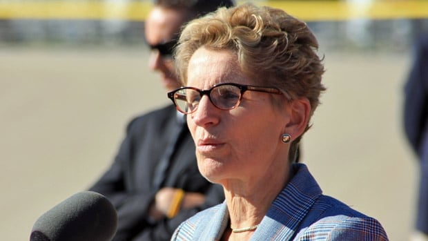 Premier Kathleen Wynne, seen here in this file photo, announced a two-year, $295 million dollar youth employment strategy at the Cambridge campus of Conestoga College, the initiative is expected to generated 30,000 jobs.