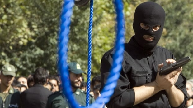 Murder, rape, armed robbery and kidnapping, along with drug trafficking, are all punishable by death in Iran.  International rights groups have criticized Iran for its growing pace of hangings.