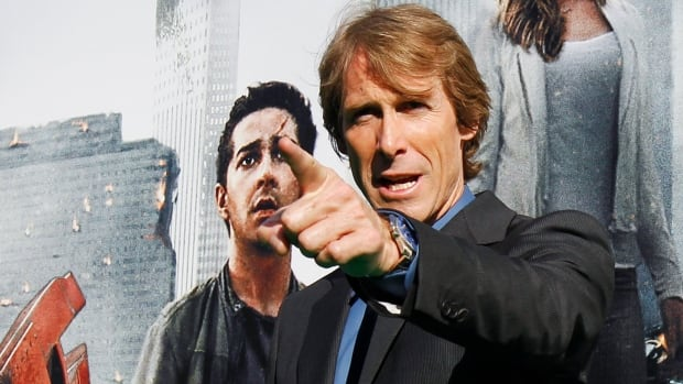 Director Michael Bay, seen in Moscow in 2011, was attacked while filming the latest Transformers film in Hong Kong.