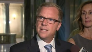 Brad Wall in scrum
