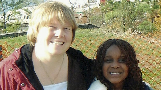 Darlene Priestman adopted Nigerian refugee Konnisola and welcomed her into her home.