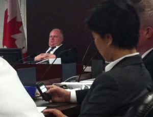 Ford allegedly sleeping at 2011 budget deliberations