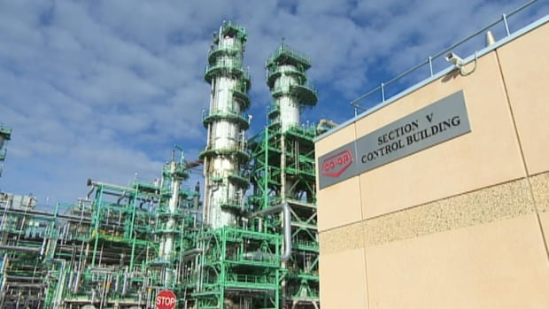 The new section at the Co-op Refinery in Regina took five  years to build and cost more than $2.5 billion.