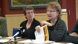 Charlotte Hrenchuk of Yukon Anti-Poverty Coalition