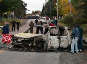 NB Shale Gas Protest 20131017