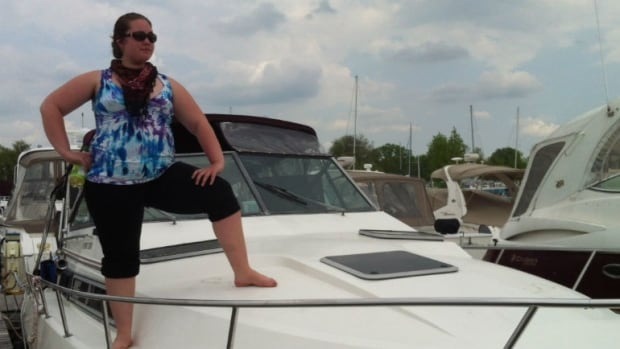 Since May, Danica Brown, 26, has been living on her boat, which she hopes to pay off in five years.