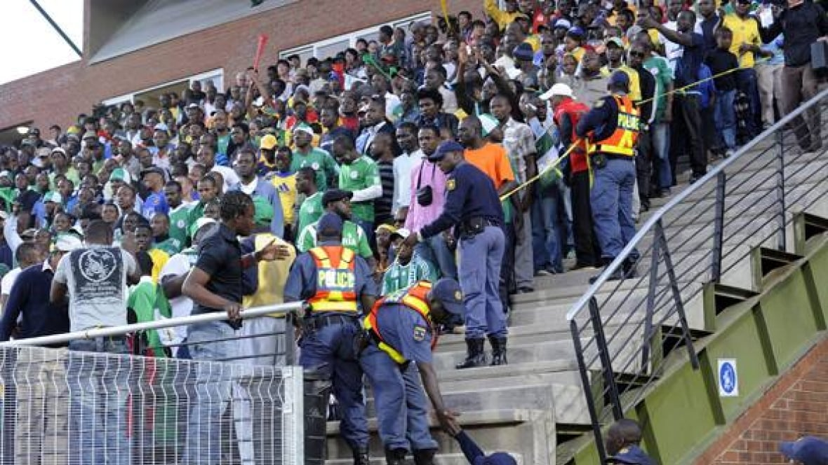 Stadium Stampede A World Cup Warning Fifa Cbc Sports