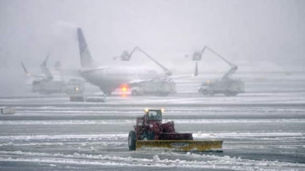 At airports in Halifax, Moncton, Saint John and Fredericton, there have been some flight cancellations to and from Ottawa, Montreal and Toronto.