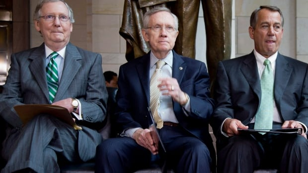 Senate Minority Leader Republican Mitch McConnell, Senate Majority Leader, Democrat Harry Reid and Republican House Speaker John Boehner could all be back at the negotiating table in the coming months in another frenzied attempt to deal with a possible government shutdown.