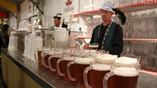 Molson Canadian holds the exclusive rights to serve at Oktoberfest festival halls across Waterloo Region, but micro-brews say the would like a chance to break into the annual festival.