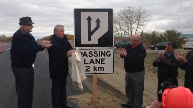Passing lanes added to Highway 10