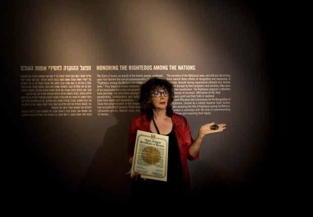 Mideast Israel Egyptian Holocaust Rescuer