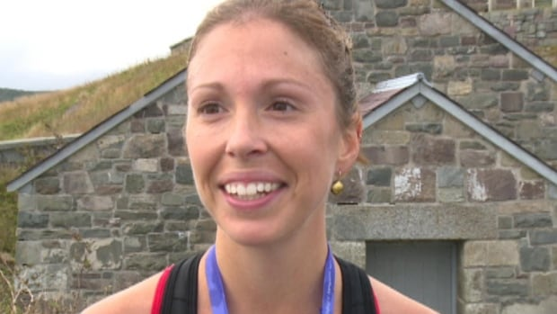 Kate Vaughan-Bazeley set a new women's record in this year's Cape to Cabot race.