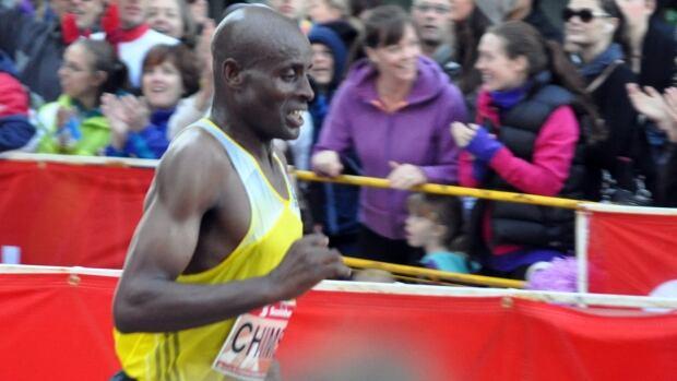 "Deressa Chimsa of Ethiopia ran a 2:07:05 marathon in Toronto on Sunday. Organizers of the Toronto Waterfront Marathon said it was ""the fastest time ever run on Canadian soil."""