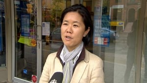 Coun. Kristyn Wong-Tam talks about Church and Wellesley murals