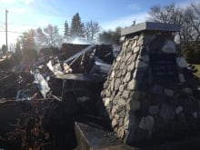 Firehall rubble