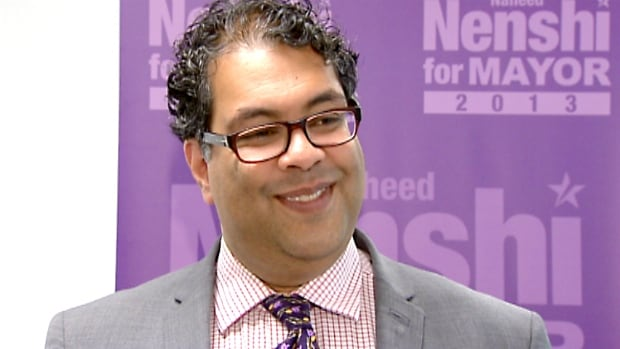 CBC Calgary has declared Naheed Nenshi as the winner in this year's mayoral race.