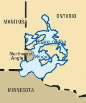 northwest-angle-map