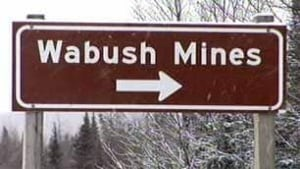 Wabush Mines sign