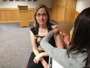 Thunder Bay flu shot