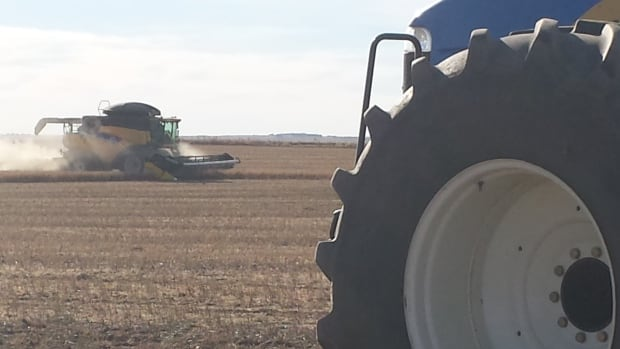 It takes a lot of big machines to bring in the harvest, particularly the 2013 bumper crop in Saskatchewan.