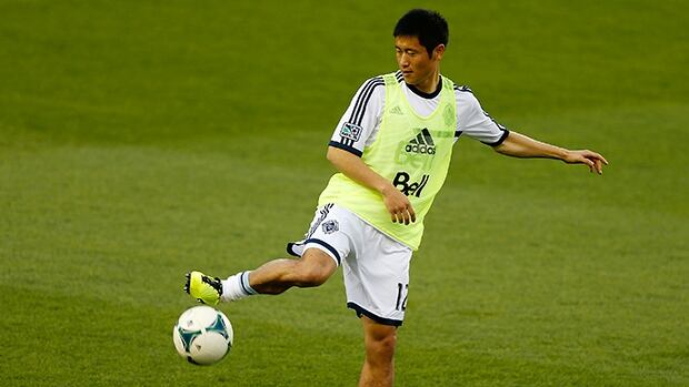 Young-Pyo Lee joined Vancouver in December 2011 and was named the team's player of the year in 2012.